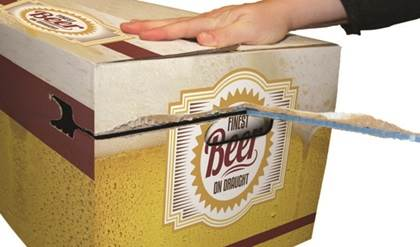 Sesame Tap Beer Box